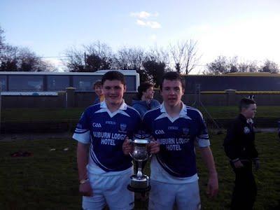 Kevin Keane & Gearóid Cahill - Munster U-15 'A' Football winners with St. Flannan's